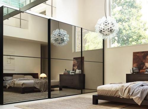 Зеркала для увеличения пространства комнаты