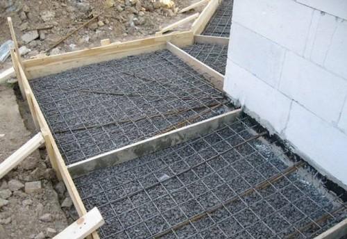 Состав бетона для отмостки