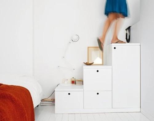 Лестница шкафчик