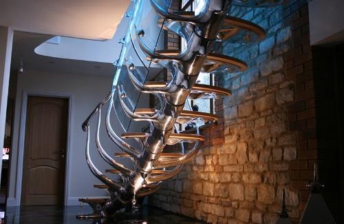 Лестница скелет