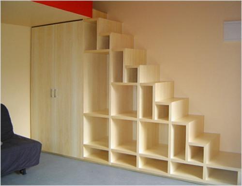 Необычные лестницы. Лестница кладовка