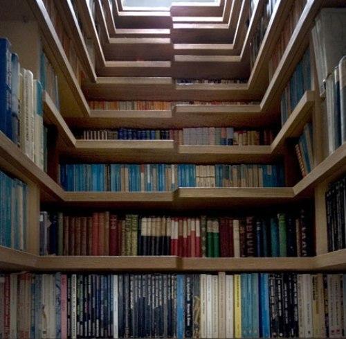 Лестница библиотека