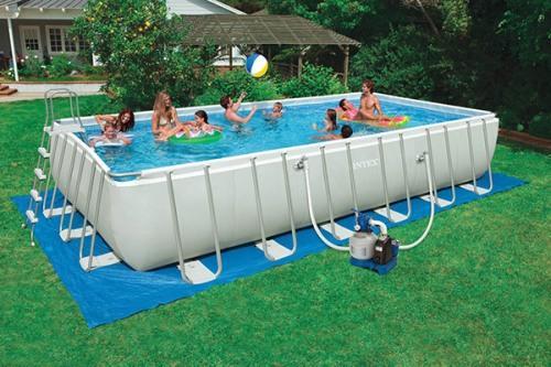 Каркасный бассейн для дачи. Как сделать бассейн своими руками?