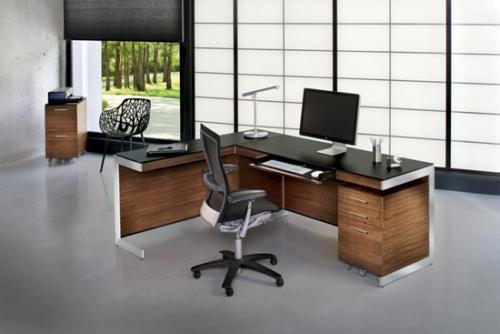 Серый цвет в интерьере офиса