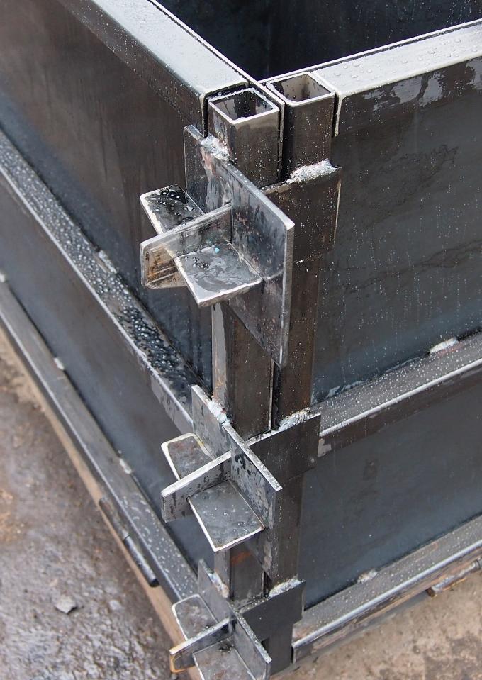 Самостоятельное сооружение металлической опалубки