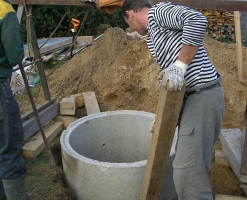 Этапы строительства колодца своими руками