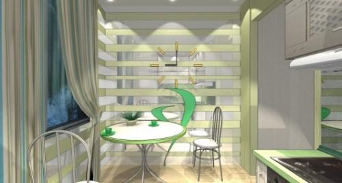 Дизайн кухни 8 кв м. Фото 3