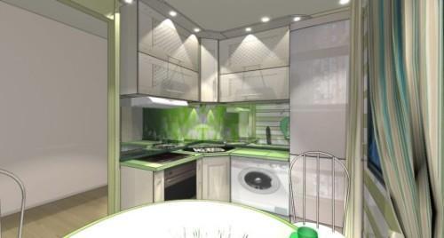 Дизайн кухни 8 кв м. Фото 4