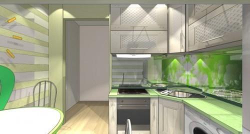 Дизайн кухни 8 кв м. Фото 5