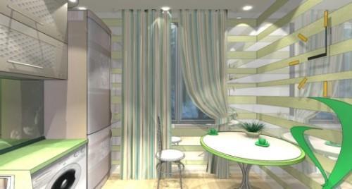 Дизайн кухни 8 кв м. Фото 6