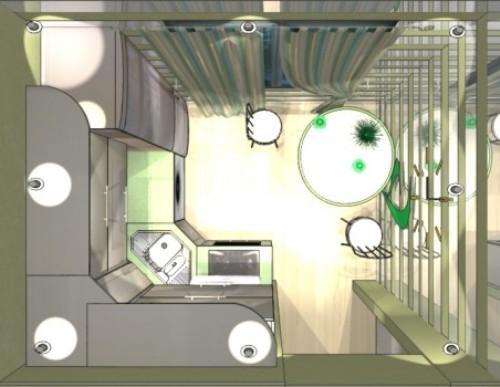 Дизайн кухни 8 кв м. Фото 7