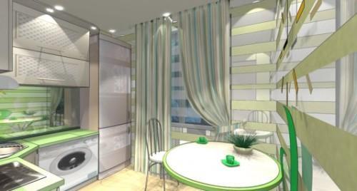 Дизайн кухни 8 кв м. Фото 8