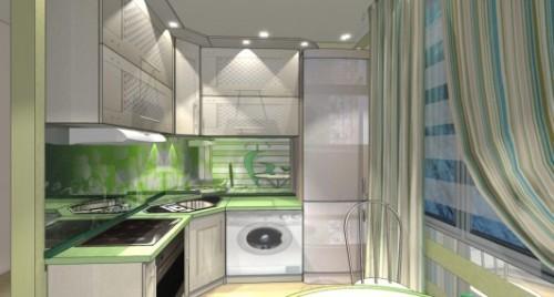Дизайн кухни 8 кв м. Как обустроить маленькую кухню?
