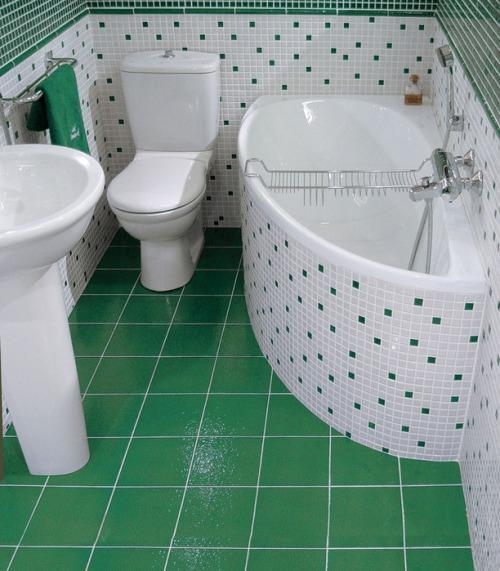 Интерьер ванной комнаты в хрущевке. Фото 10