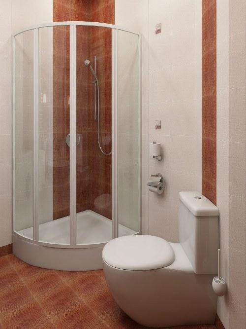 Интерьер ванной комнаты в хрущевке. Фото 11