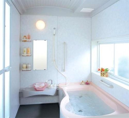 Интерьер ванной комнаты в хрущевке. Фото 3