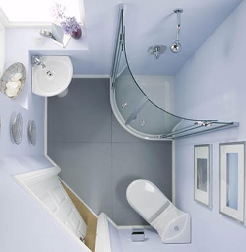 Интерьер ванной комнаты в хрущевке. Фото 5