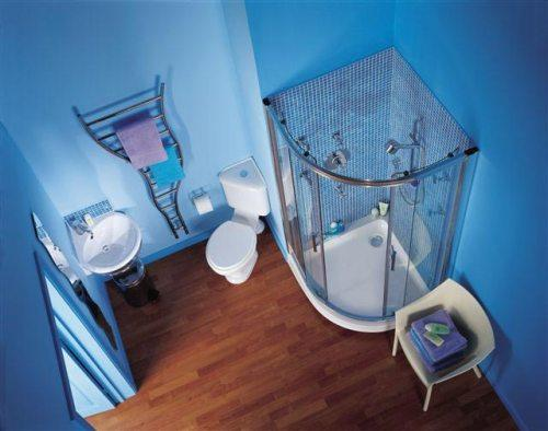 Интерьер ванной комнаты в хрущевке. Фото 8