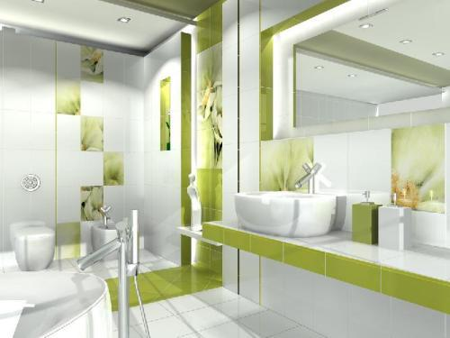 Плитка для ванной комнаты. Фото 10