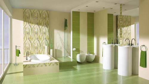 Плитка для ванной комнаты. Фото 2