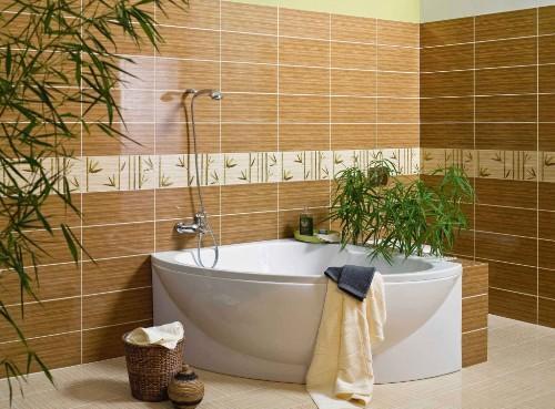 Плитка для ванной комнаты. Фото 8