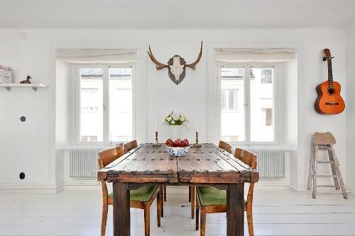 Скандинавский стиль в интерьере