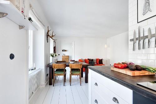 Интерьер комнаты в скандинавском стиле. Фото 4
