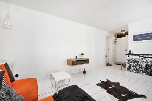 Интерьер комнаты в скандинавском стиле. Фото 6