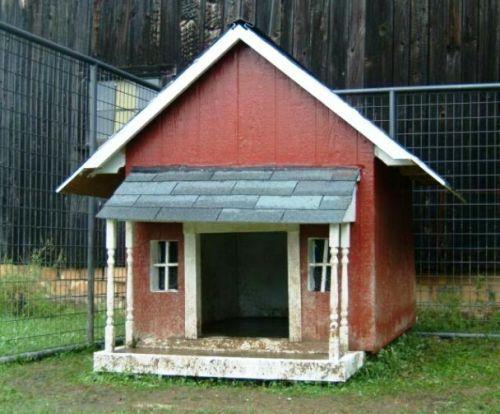 Как сделать будку для собаки быстро и дешево?
