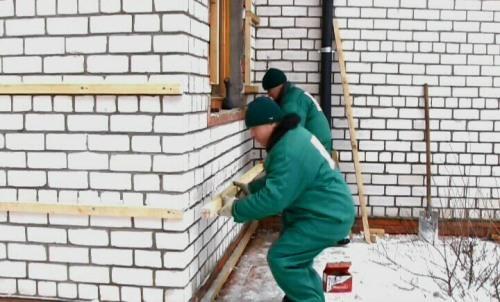 Деревянная обрешетка стен