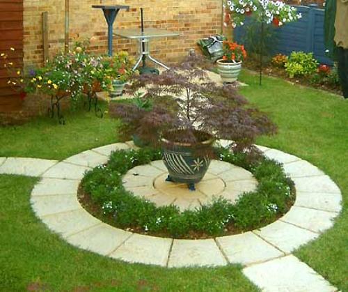 Как сделать палисадник и газон украшением участка?