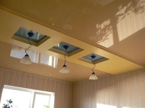 Преимущества и отличия натяжных потолков из ткани и пленки