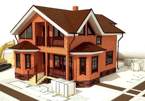 Расчет строительства дома. Сколько стоит строительство кирпичного дома?