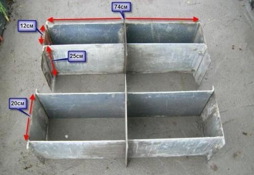 Самодельные формы для шлакоблоков. Фото 2
