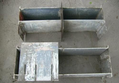 Самодельные формы для шлакоблоков. Фото 3