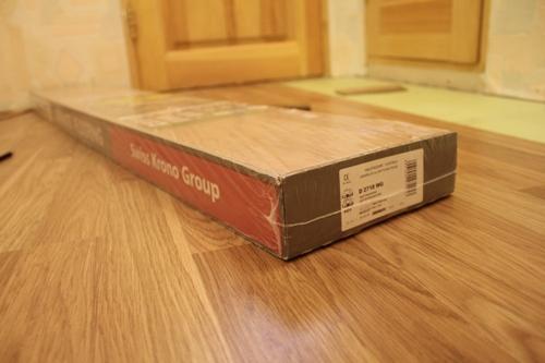 Сколько весит упаковка ламината?