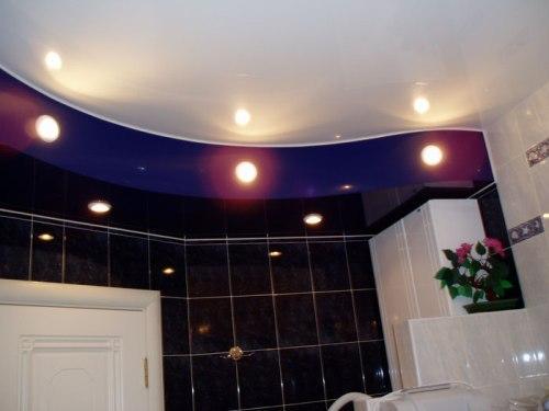 Освещение ванной