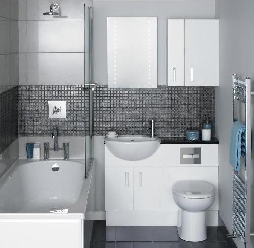 Оборудование ванной комнаты 2 кв. м