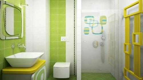С чего начать оформление дизайна ванной комнаты 5 кв. м
