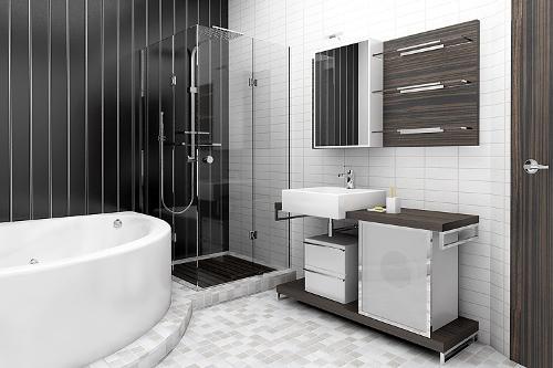 Как выбрать стиль ванной комнаты 5 кв. м
