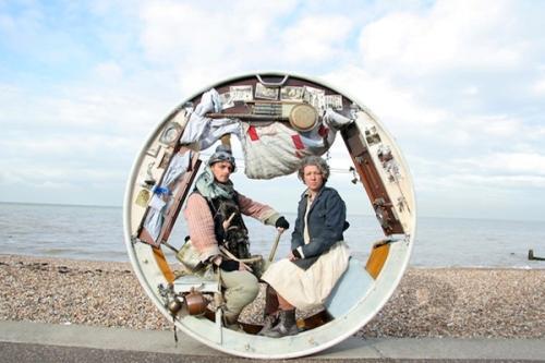 Дом-колесо The Wheel House — путешествуй не выходя из дому