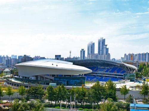 Футбольный стадион Sungui Arena Park в Южной Кореи. Фото 2