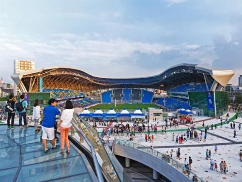 Футбольный стадион Sungui Arena Park в Южной Кореи. Фото 4