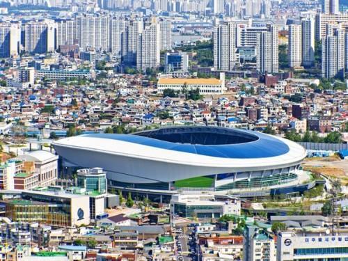 Футбольный стадион Sungui Arena Park в Южной Кореи. Фото 5