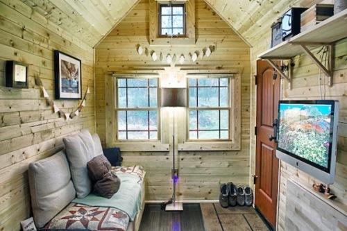 Интерьер маленького дома. Фото 2