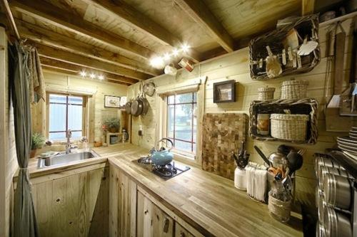 Интерьер маленького дома. Фото 4