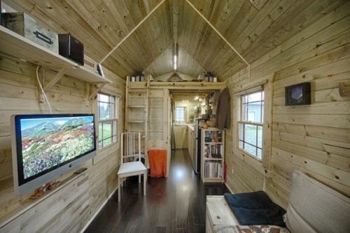 Интерьер маленького дома
