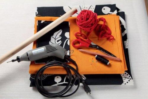 Инструменты и материалы для изготовления гамака