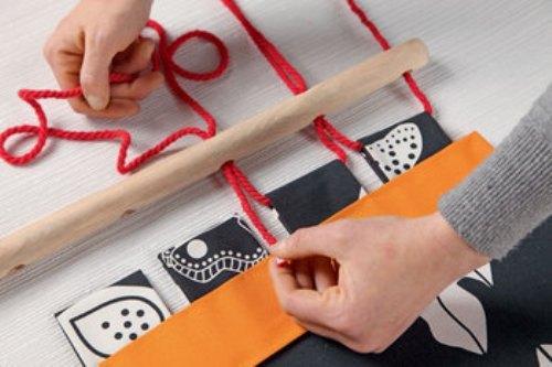 Как сделать гамак своими руками в домашних условиях. Фото 9