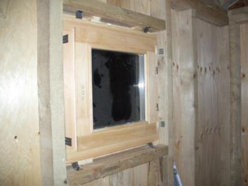Окно в подсобке
